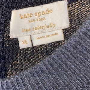 kate spade Sweaters - KATE SPADE WOOL/CASH SWEATER W/BOWS XL